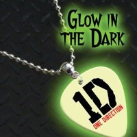Printed Picks Company One Direction Glow In The Dark Premium Guitar Pick Necklace/Chain