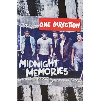 One Direction 1D Midnight Memories Poster 22x34