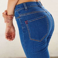 BDG Twig Super High-Rise Skinny Jean - Indigo - Urban Outfitters