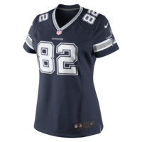 Nike NFL Dallas Cowboys (Jason Witten) Women's Football Away Limited Jersey