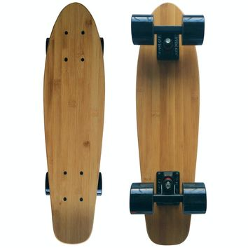 Mini Cruiser Bamboo Skateboard And Longboard