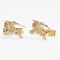 Men's Burberry 'Equestrian Knight' Cuff Links - Light Gold