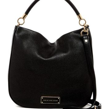 Marc by Marc Jacobs | Leather Hobo | Nordstrom Rack