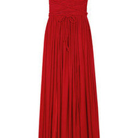 Discount Rare Opulence Braid-embellished satin-jersey dress | THE OUTNET