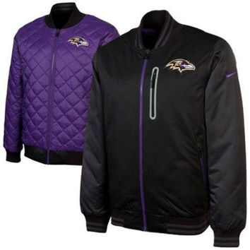 Baltimore Ravens NFL Nike Destroyer Reversible Jacket NWT Football new with tags