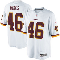 Alfred Morris Washington Redskins Nike Limited Jersey - White