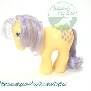 My Little Pony Lemon Drop: Vintage 80s Toy TLC Custom Bait