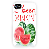 Beyonce I Been Drinking Watermelon  For iPhone 4 / 4S Case