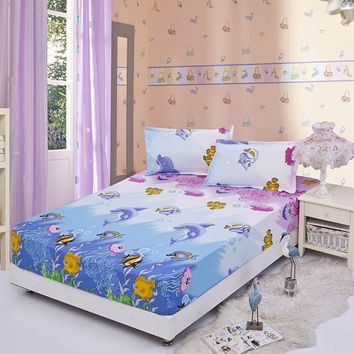 fitted bed sheet with elastic 150/180x200cm