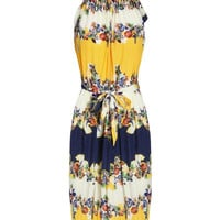 'The Noa' Floral Printed Sleeveless Dress