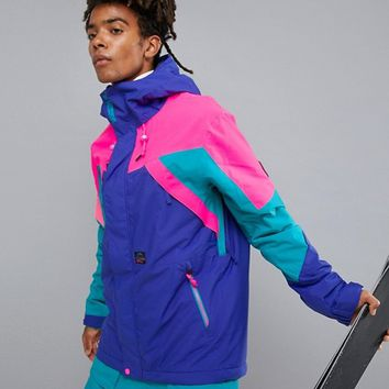 O'Neill Reissue 91 Extreme Ski Jacket in Purple at asos.com