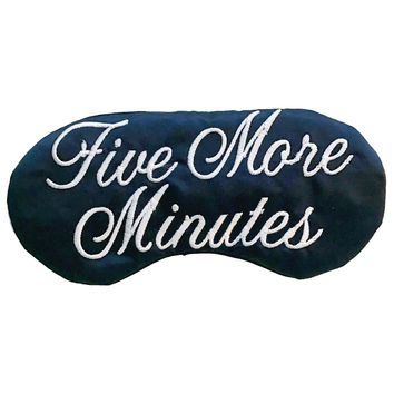 FIVE MORE MINUTES SLEEP MASK