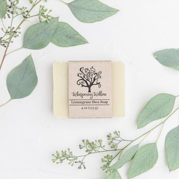 Lemongrass Shea Natural Soap
