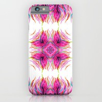 Grazioso Bold Kaleido Pink iPhone & iPod Case by Lisa Argyropoulos