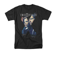 The X-File Agents Black T-Shirt