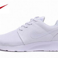 Nike White Roshe Mens Running Shoes