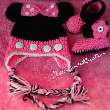 Minnie Mouse Crochet set