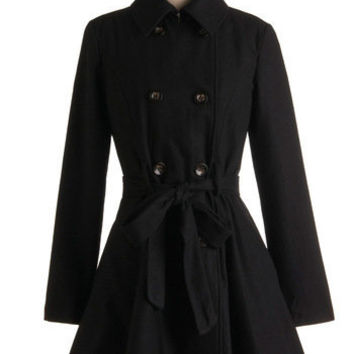 Out All Night Coat | Mod Retro Vintage Coats | ModCloth.com