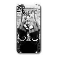 Tupac Shakur Print On Hard Plastic Case For iPhone 6/6s,iPhone 7, iPhone 7 Plus