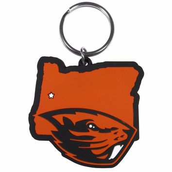 Oregon State Beavers Home State Flexi Key Chain NCAA Licensed