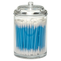 Acrylic Canister with Dome Lid
