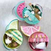 Fresh Start Fruit Icon Beauty Cases