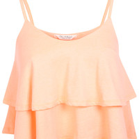 Coral Double Layer Cami - View All - New In
