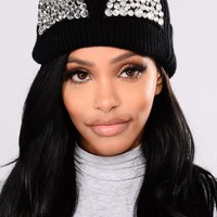 The Purrfect Beanie - Black