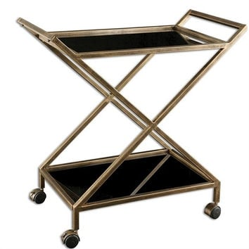 Uttermost Zafina Bar Cart - Uttermost 25013