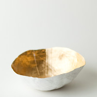 Gold Paper Bowl