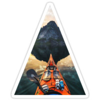 'Kayak' Sticker by Kollege Dezigns