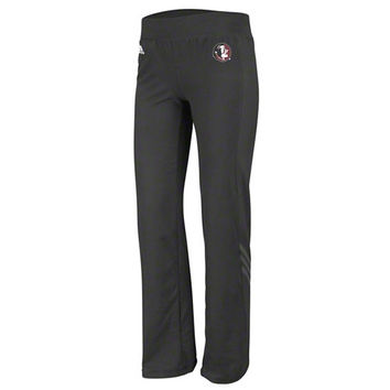 adidas Florida State Seminoles Women's Black Primary Logo Training Pants