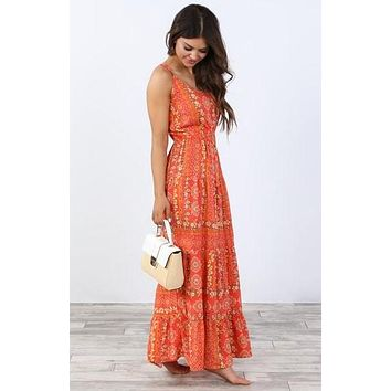 Sadie Floral Maxi Dress | S-XL