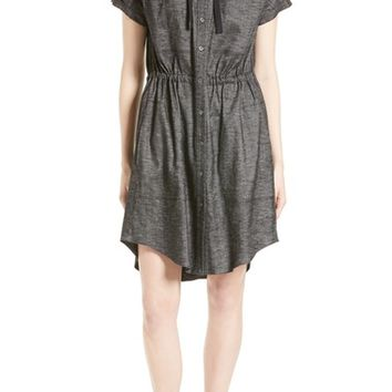 Theory Laela Tierra Chambray Shirtdress | Nordstrom