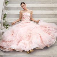 pretty pink gowns - Google Search