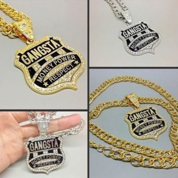 Jewelry Shiny Stylish Gift New Arrival Korean Hip-hop Accessory Pendant Necklace [6542729411]