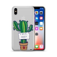 Free Hugs  - Clear TPU Case Cover