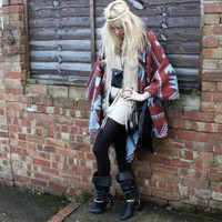 Asos Poncho //    Going Native by Giselle C // LOOKBOOK.nu
