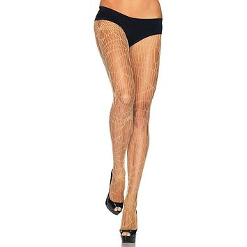 Just The Way You Are Sheer Distressed Net Tights Stockings Hosiery - 2 Colors Available
