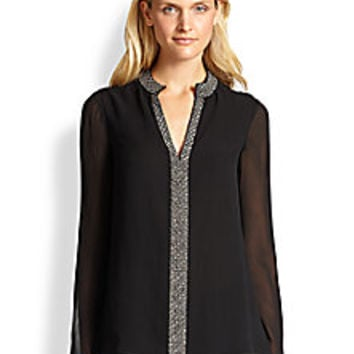 Tory Burch - Silk Lynn Tunic - Saks Fifth Avenue Mobile