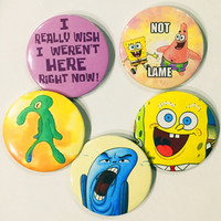 Spongebob Squarepants Pins