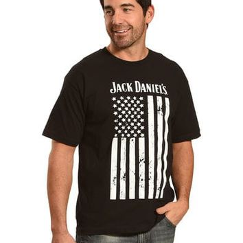 Jack Daniels Men's Black Flag Tee
