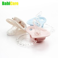 Silicone Pacifier PBA Free safe 0 1 2 3 4 5 6 7 8 9 10 11 12 24 months baby Orthodontic
