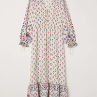 H&M Patterned Long Dress $99