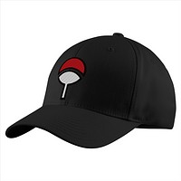 Naruto Uchiha Clan Structured Twill Cap - PF00300TC