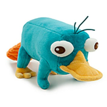 Perry Plush - Phineas and Ferb - Mini Bean Bag - 10''