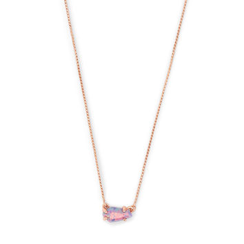 Jayde Gold Pendant Necklace in Turquoise Kyocera Opal | Kendra Scott
