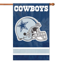 Dallas Cowboys NFL Applique Banner Flag (44x28)