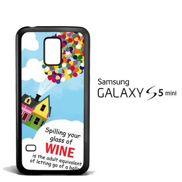 Up And Go Balloon House Y2715 Samsung Galaxy S5 Mini  Case