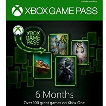 Xbox Game Pass - 6 Month Membership - Xbox One [Digital Code]